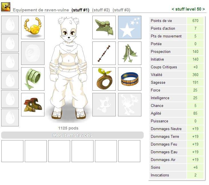 Stuff du panda (lvl 50)