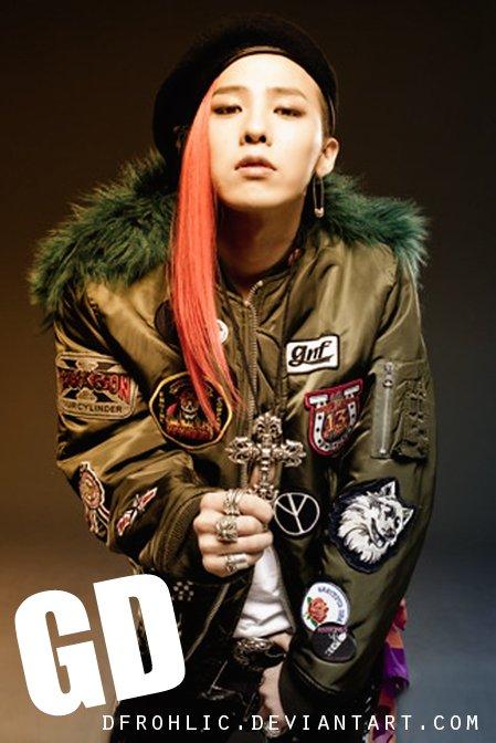 Les coupes de cheveux de couleur spécial G-Dragon