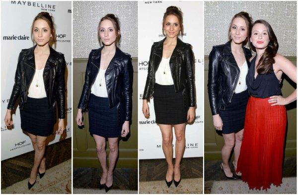 08/06/2014 : Troian présente lors d'une soirée du magazine Marie Claire à Los Angeles