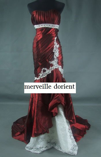 bordeaux robe faite sur mesure delais de confection 1mois 99¤