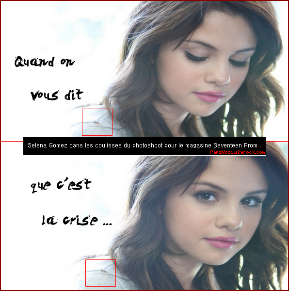 6 La crise a aussi touché les people , ce n'est pas Selena Gomez qui nous dira le contraire ; ) 6