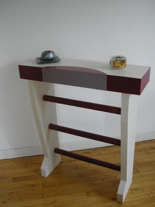 meuble en carton sur commande hum. Black Bedroom Furniture Sets. Home Design Ideas