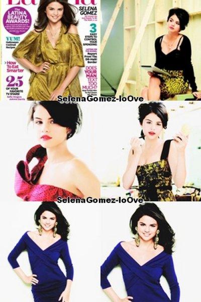 Selena et en Couverture du magazine Latina