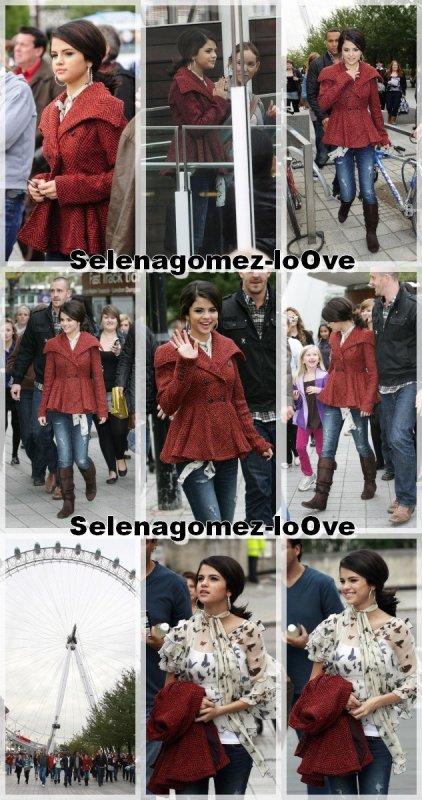 30/09/10 Selena s'est rendu à la grande roue de londres. Voici quelque photo.