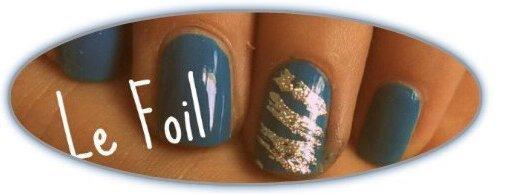 Nail art : le foil