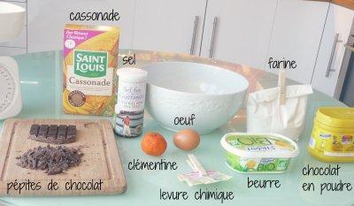 recette/cuisine : cookies chocolat maison