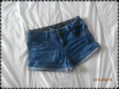 DIY: recycler un vieux jean en short.