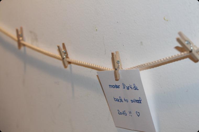 DIY: décorer son bureau   back to school 2015
