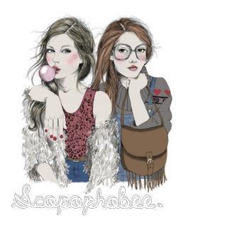 Luna & Jade ; Depuis toujours. Pour toujours. ♡