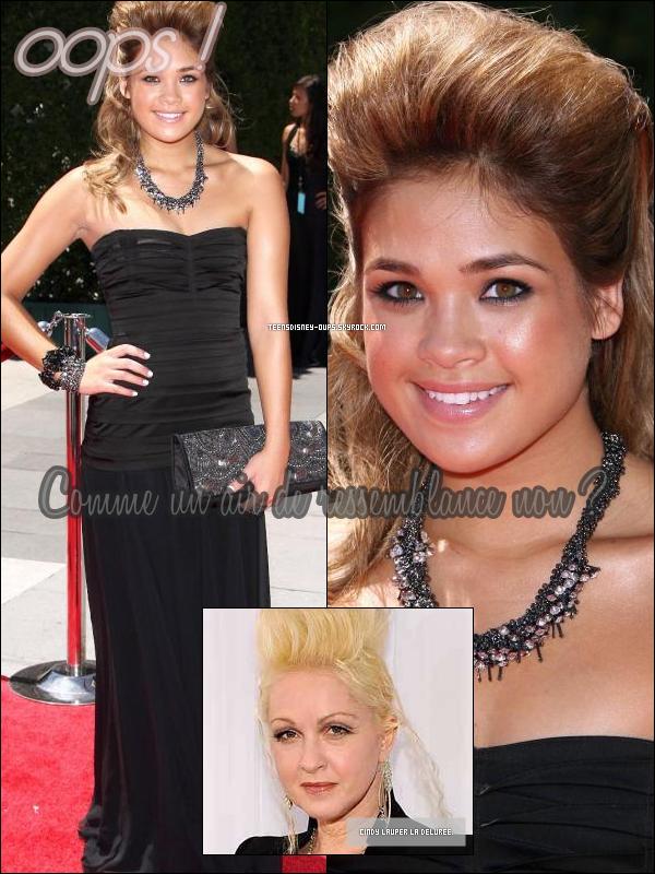 NiNi était aux Emmy Awards et on peut dire que sa coiffure .. en jette. Ton avis sur sa hair's banana ?
