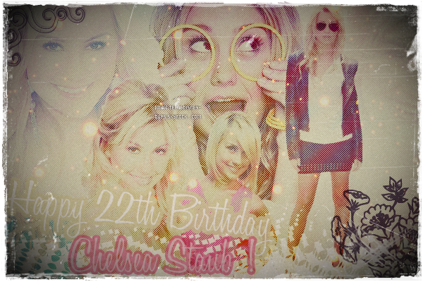 Happy Birthday to u, happy birthday to u , happy birthday to u Chelsea, Happyyyy biiiirthdaaaay to uuuuu.