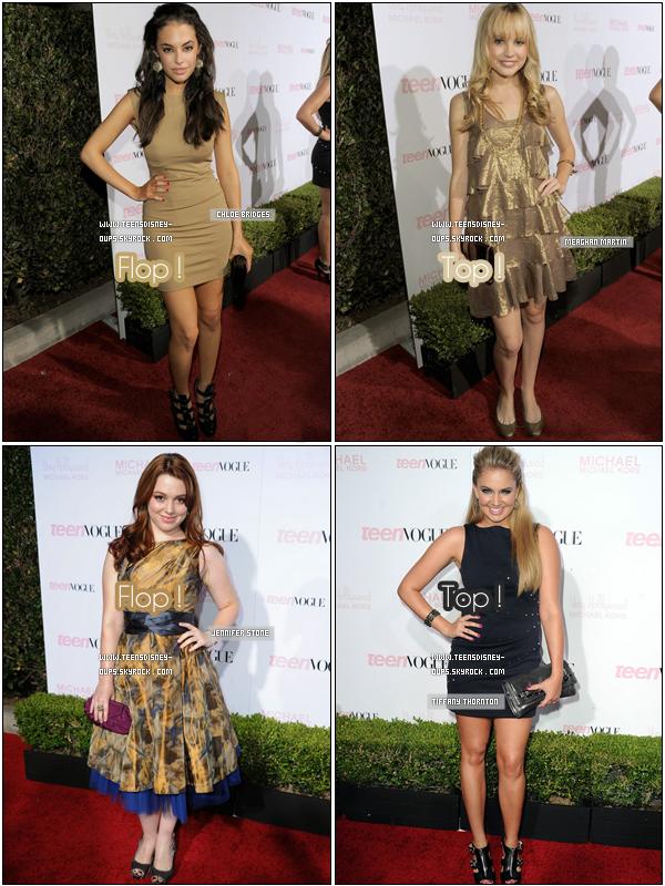 Les Teens aux 2010 Teen Vogue Young Hollywood Party ! Top / Flop , donnez votre avis !