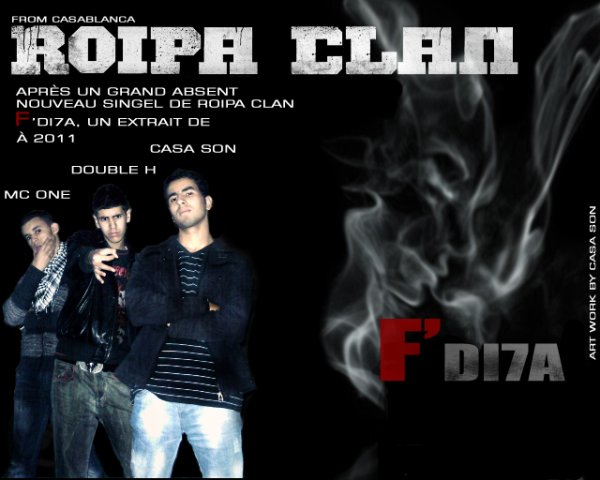 F'DI7A, Nouveau Single de ROIPA CLAN