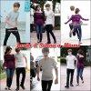 Justin & Selena quittant leur hotel a Miami .