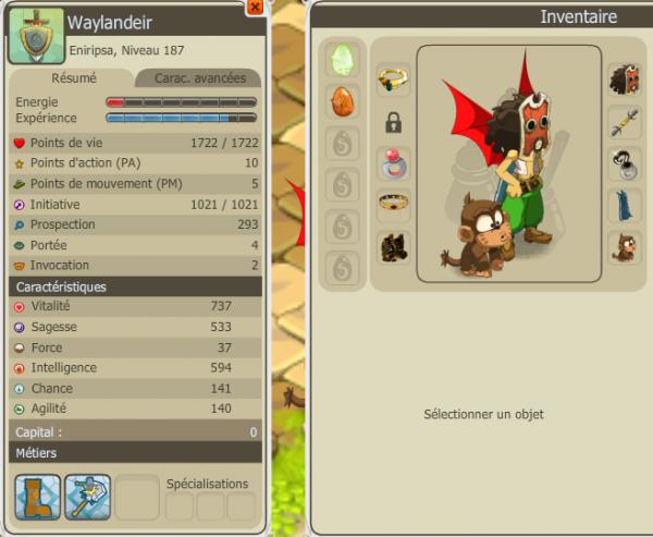 Waylandeir, petit Eniripsa qui ne demande qu'à devenir grand.