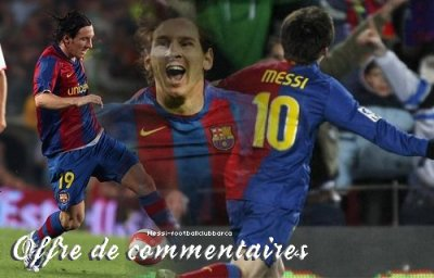 offre de commentaires on messi-footballclubbarca
