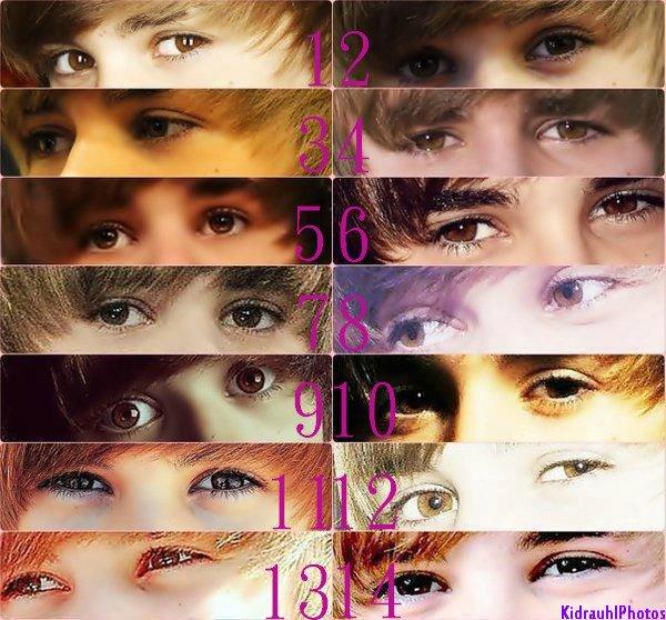 Qu'elle est ton\tes regards preferer de Justin ?