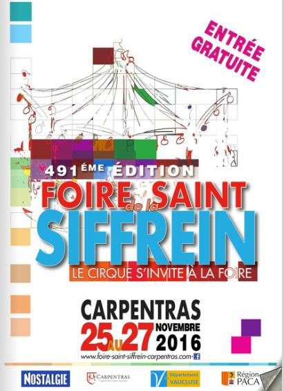 la Foire de la Saint Siffrein 2016