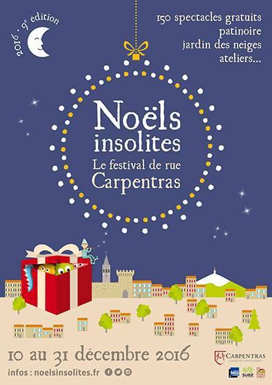 Noëls Insolites à Carpentras 2016