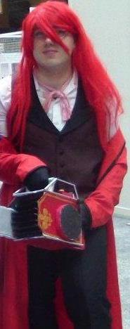 Cosplay Grell Sutcliff