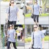 * 5/03/12: Nikki a été repéré arrivant à sa salle de gym à Studio City, elle avait l'air frais et agréable. *