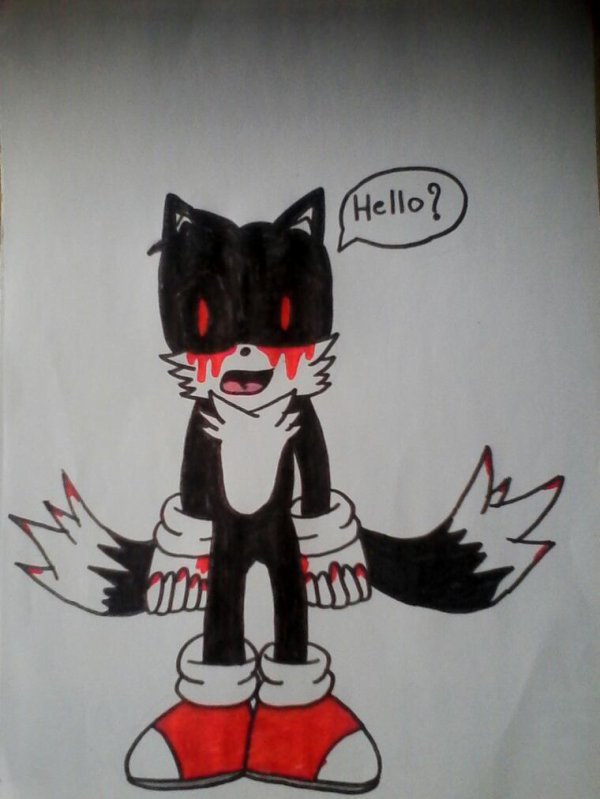 Dessin for you Tails-exe