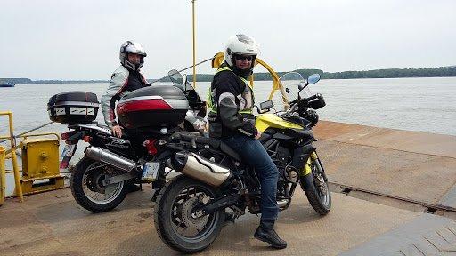 Sortie moto au Danube