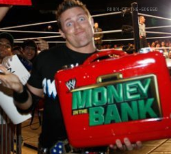 The Miz Mister Money In The Bank of Raw