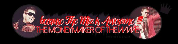 The Miz Intercontinental Champion x2