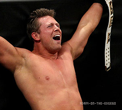 The Miz Intercontinental Champion x4