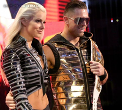 The Miz Intercontinental Champion x5