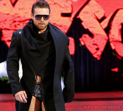 The Miz entrance