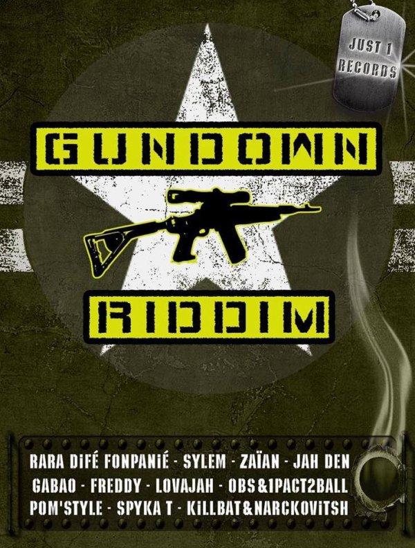 Gundown Riddim / OBS FénoménaL feat 1Pact2Ball-BAD BOY!!! [Gundown Riddim] (2014)