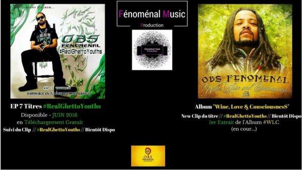 EP 7 Titres #RealGhettoYouths avant l'Album #WineLoveAndConsciousness