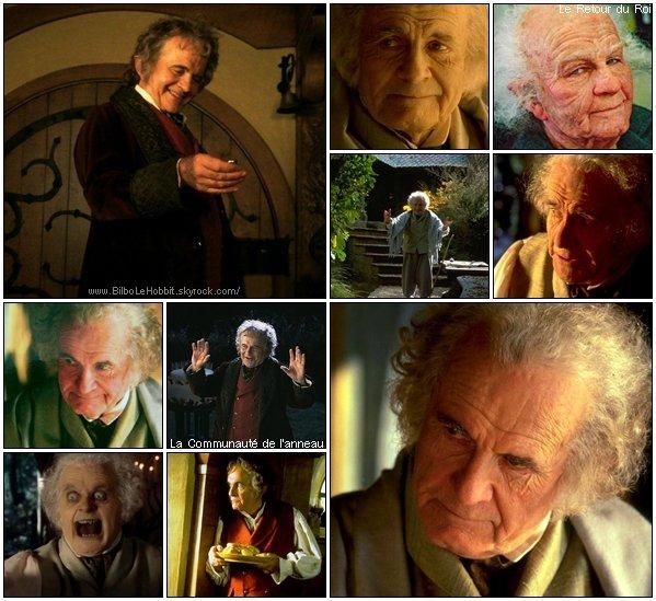 # FlashBack: Ian Holm qui interprétait Bilbo Baggins dans la trilogie Le Seigneur des Anneaux.[ Malgré le fait que Ian Holm ne reprendra pas son rôle dans le film ● ][ je trouve important de le revoir dans le rôle alors voici une série d'images pour notre plus grand plaisir ]