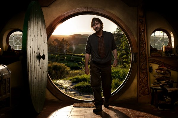 # Photo Officielle:Peter Jackson sur le Set