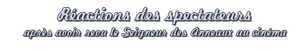 # Seigneur des Anneaux: