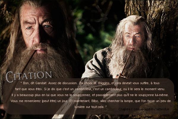 ■ ESPACE CITATIONJ'inaugure la nouvelle rubrique du blog: Les articles CitationsLes Citations proviennent du roman The Hobbit essentiellement mais aussi d'autres oeuvres de TolkienUn article Citation sera en ligne chaque semaine. N'hésitez pas à proposer vos citations préférées