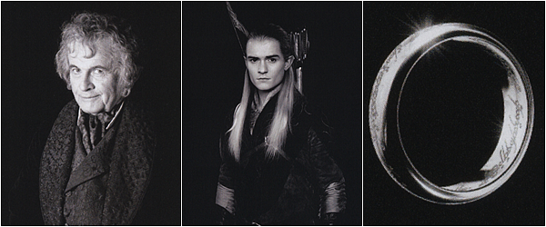 [ Rubrique n°7 ]Retour sur les photos officielles des personnages principaux de la Communauté de l'Anneau.  C'est étrange de revoir toutes ces photos, longtemps après. On se sent soudain très nostalgique.