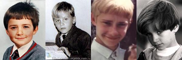 LE JEU DU MOMENT Les acteurs plus jeunes, parviendrez vous à les reconnaître?