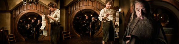 Récapitulatif des photos de The Hobbit