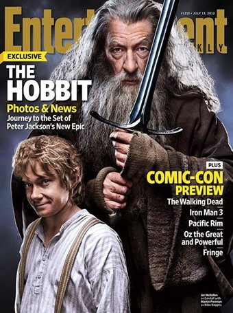 # The Hobbit:The Hobbit en Couverture du magazine Entertainment Weekly !