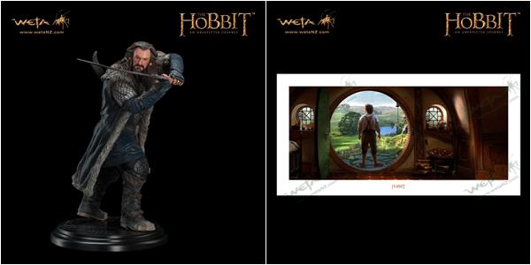 # Weta:The Hobbit, deux pièces de chez Weta en exclusivité pour le Comic-Con !