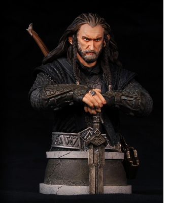 # The Hobbit:Un Buste de Thorin par Gentle Giant Bust !