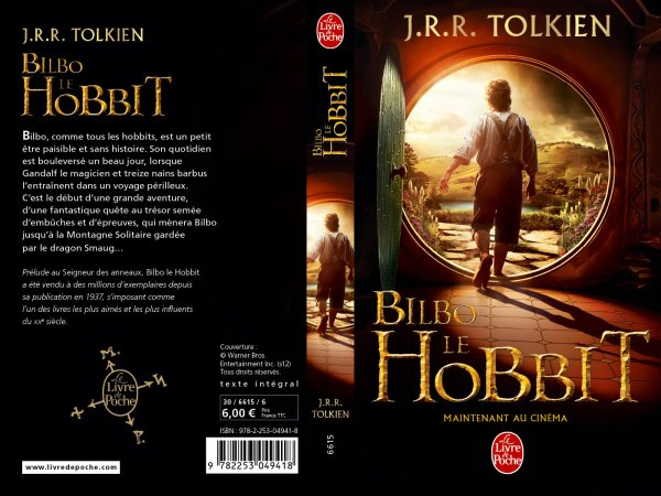 # The Hobbit:Ré-édition du roman avec photo du film par Livre de Poche!