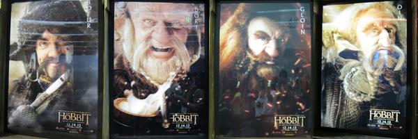 # COMIC-CON 2012:Journée du 11 Juillet 2012 - Visite du Stand The Hobbit !