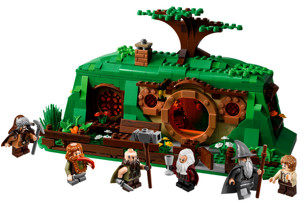 # COMIC-CON 2012:Aperçu de la gamme LEGO The Hobbit