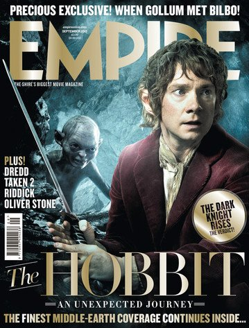 # Presse:The Hobbit fait la une de EMPIRE !