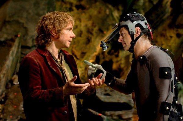 # The Hobbit :Deux Nouvelles photos du film et du tournage !