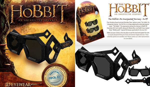 # The Hobbit: Des Lunettes 3D en édition limitée !